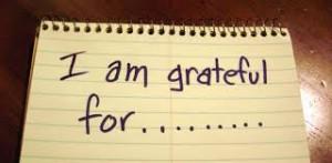 gratitude I am grateful for