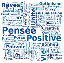 Pensees positives mots clefs