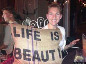 CHARLOTTE KITLEY Life is beautiful